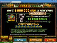 The Grand Journey Microgaming Slot