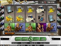 The Reel Steal NetEnt Slot