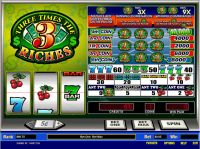 Three Times the Riches Parlay Slot