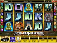 Tomb Raider Mini Microgaming Slot