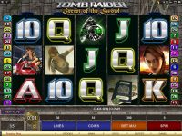 Tomb Raider - Secret of the Sword Microgaming Slot