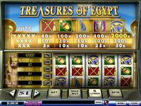 Treasures of Egypt PlayTech Slot