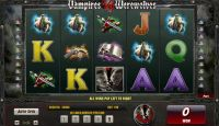 Vampires vs Werewolves Amaya Slot