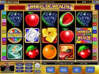 Wheel of Wealth Special Edition Microgaming Slot