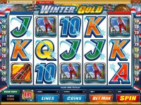 Winter Gold Microgaming Slot