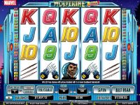 Wolverine - Action Stacks! CryptoLogic Slot