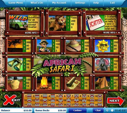African Safari Leap Frog Free Spins