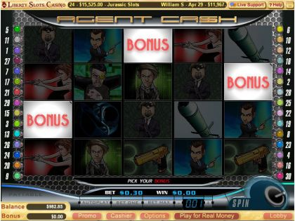 Agent Cash WGS Technology Free Spins