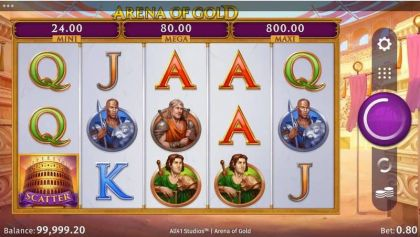 Arena of Gold Microgaming Free Spins