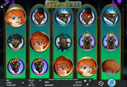 Attack Of The Zombies Genesis Free Spins