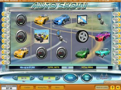 Auto Show NeoGames Second Screen Game