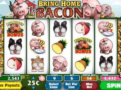 Bring Home The Bacon Parlay Second Screen Game