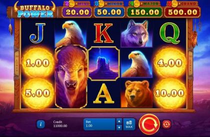 Buffalo Power: Hold and Win Playson Free Spins