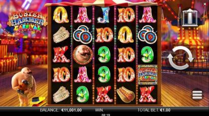 Buster Hammer Carnival Yggdrasil Free Spins