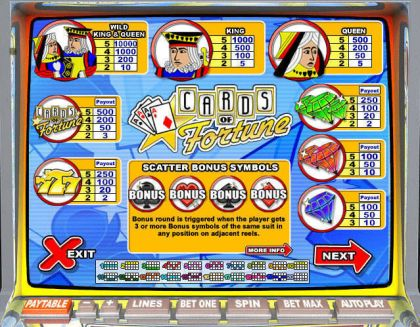 Cards of Fortune Leap Frog Second Screen Game