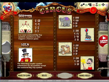 Circus bwin.party Second Screen Game