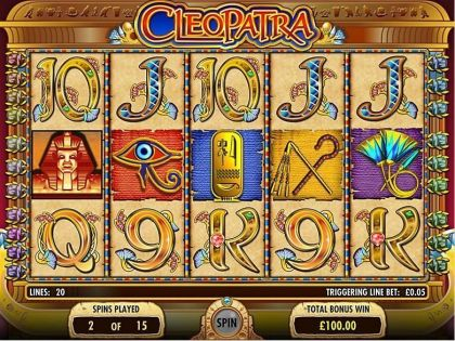 Cleopatra IGT Free Spins