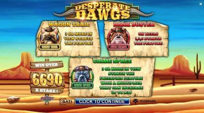 Desperate Dawgs Yggdrasil Second Screen Game