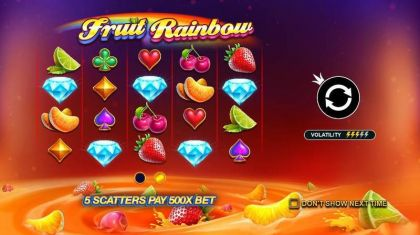 Fruit Rainbow Pragmatic Play