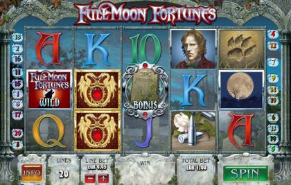 Full Moon Fortunes PlayTech Free Spins