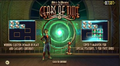 Gears of Time BetSoft Free Spins