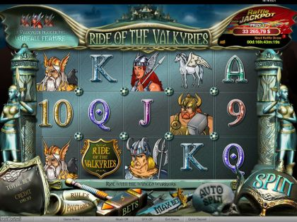 Ride of the Valkyries Raffle bwin.party Free Spins