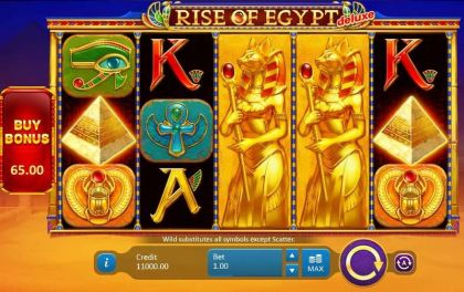 Rise of Egypt Deluxe Playson Buy Feature