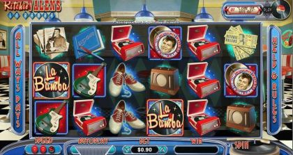 Ritchie Valens La Bamba RTG Free Spins