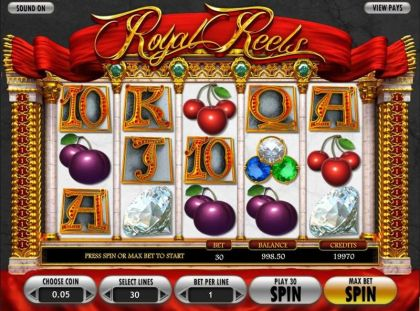 Royal Reels BetSoft On Reel Game