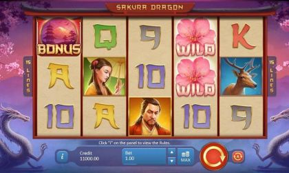 Sakura Dragon Playson Free Spins