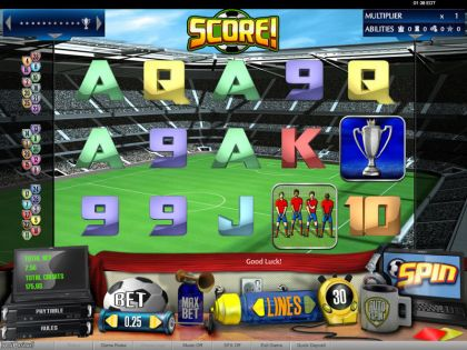 Score! bwin.party Second Screen Game