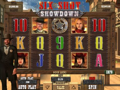 Six Shot Showdown RTG Second Screen Game