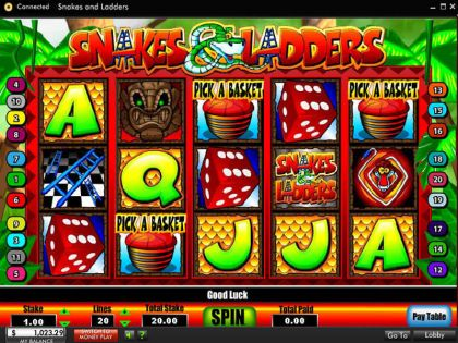 Snakes and Ladders 888 Free Spins