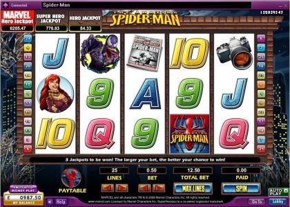 The Amazing Spider-Man 888 Free Spins