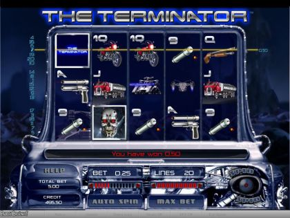 The Terminator bwin.party Free Spins