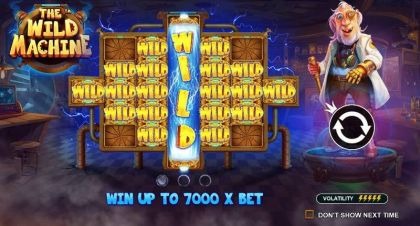 The Wild Machine Pragmatic Play Free Spins