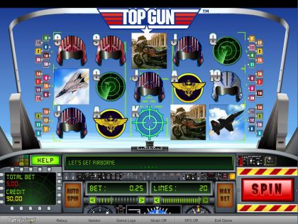 Top Gun bwin.party Free Spins