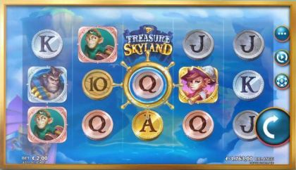 Treasure Skyland Microgaming Multipliers