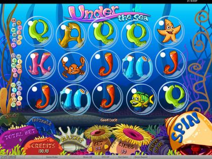 Under the Sea bwin.party Free Spins