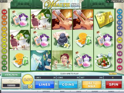 Wealth Spa Microgaming Second Screen Game