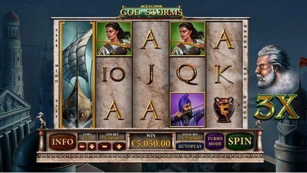 Age of the Gods - God of Storms PlayTech Slot