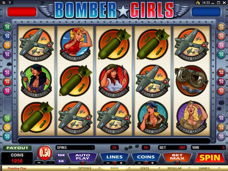 Bomber Girls Microgaming Slot