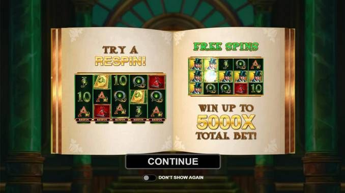 Book of Oz Microgaming Slot