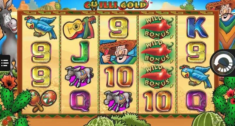Chilly Gold NextGen Gaming Slot