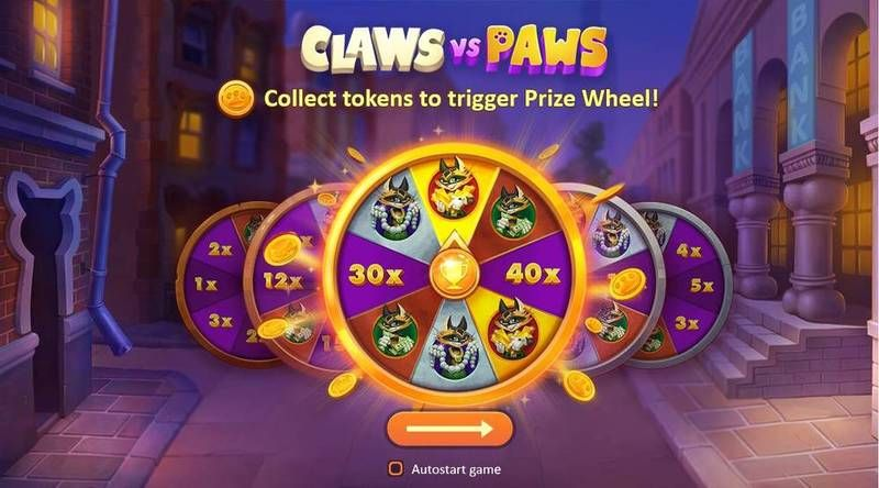 Claws vs Paws Playson Slot