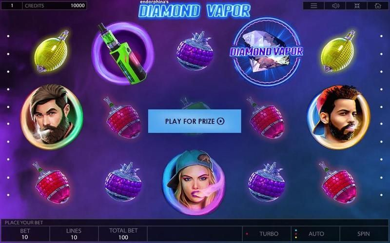 Diamond Vapor Endorphina Slot