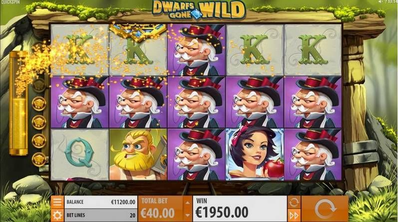 Dwarfs Gone Wild Quickspin Slot