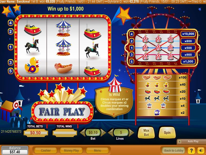 Fair Play NeoGames Slot