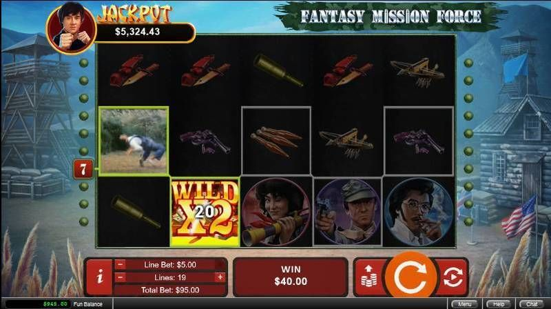 Fantasy Mission Force RTG Slot