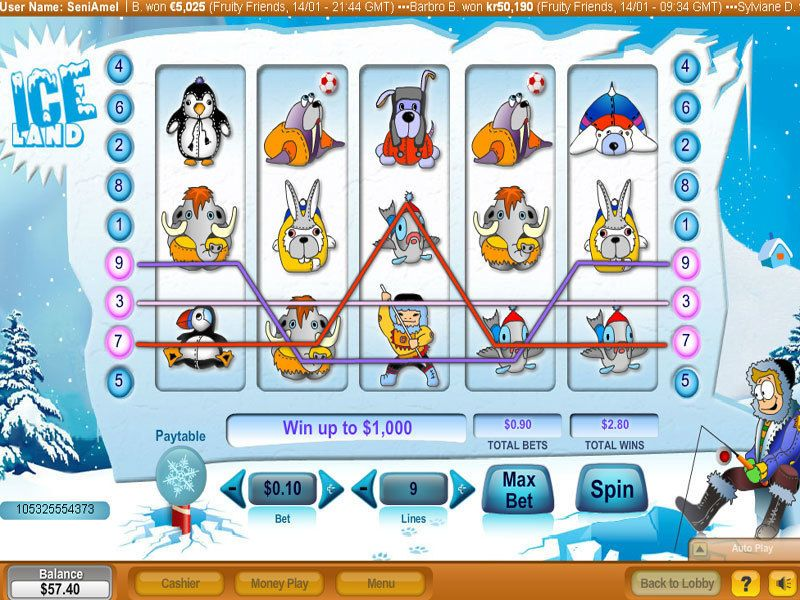 Ice Land NeoGames Slot